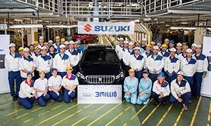 3 miliony vozů Suzuki